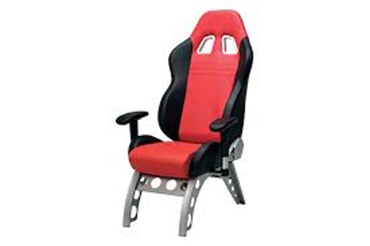 Intro-Tech Automotive PitStop GT Receiver Series Chair in Red (GT4000R)