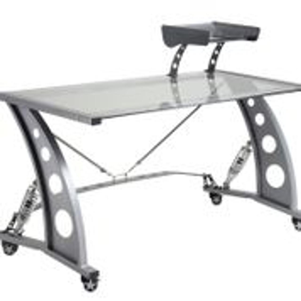 PitStop Grand Prix Complete Office Furniture Set - Black Desk