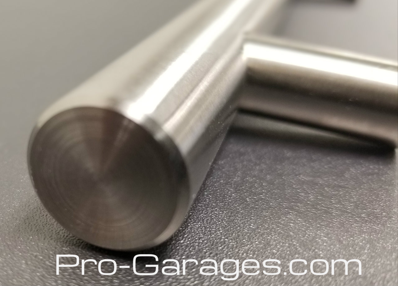 Machined Brushed Metal Handles