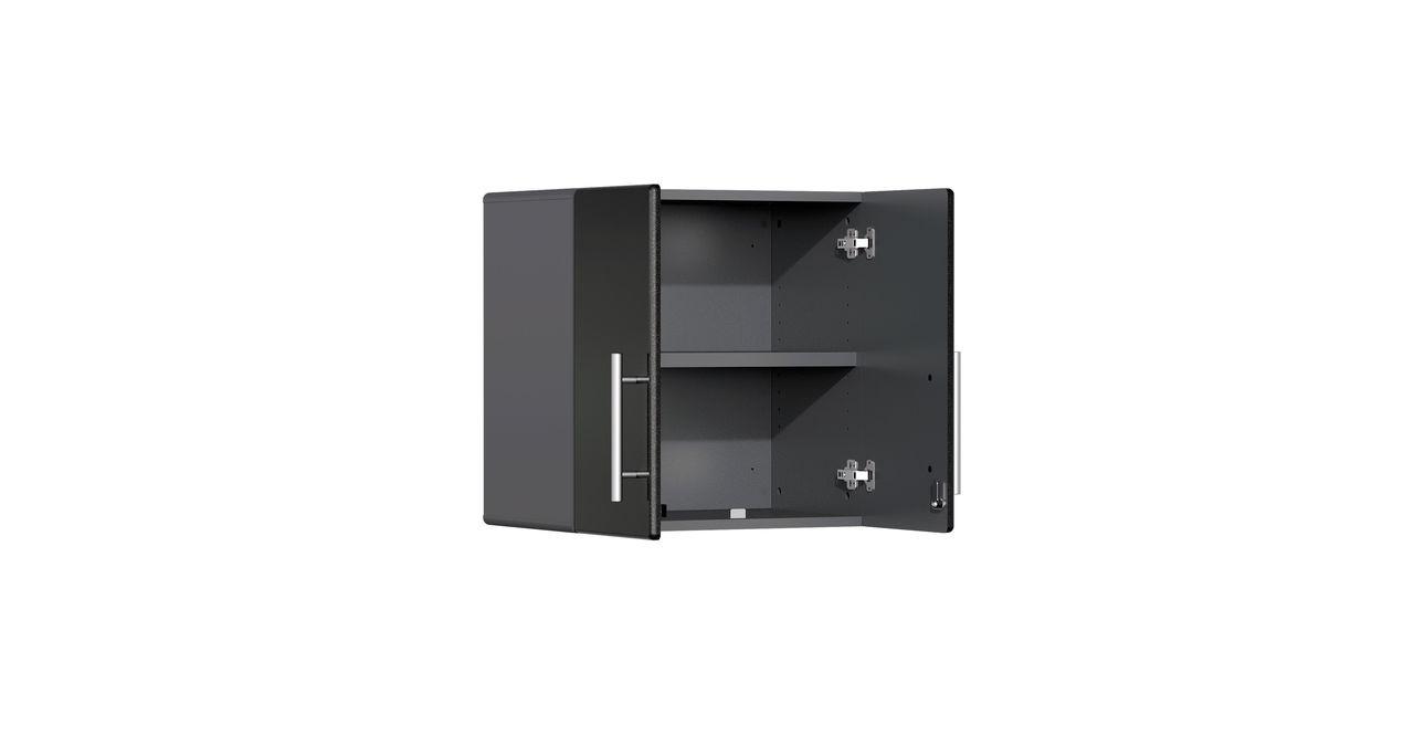 Ulti-MATE Garage 2.0 Series 9-Piece 12' Kit with Bamboo Worktop - Black (UG22092B)