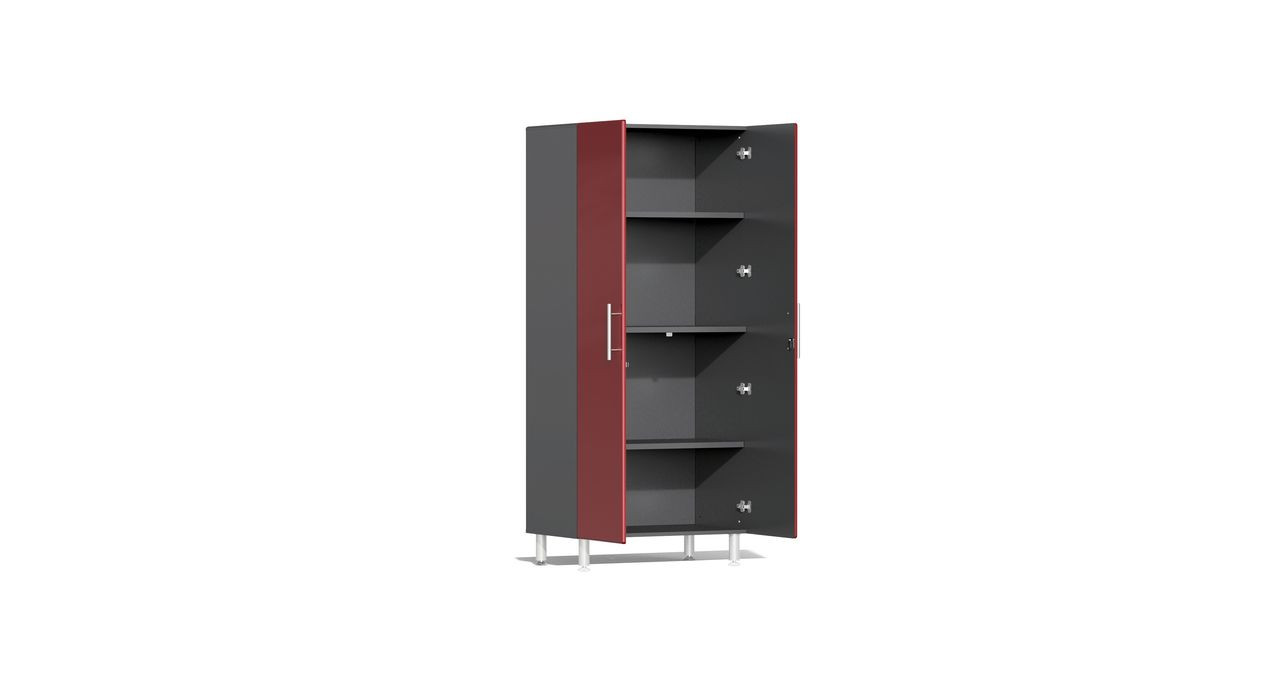 Ulti-MATE Garage 2.0 Series 10-Piece Kit with Recessed Worktop - Red (UG22101R)