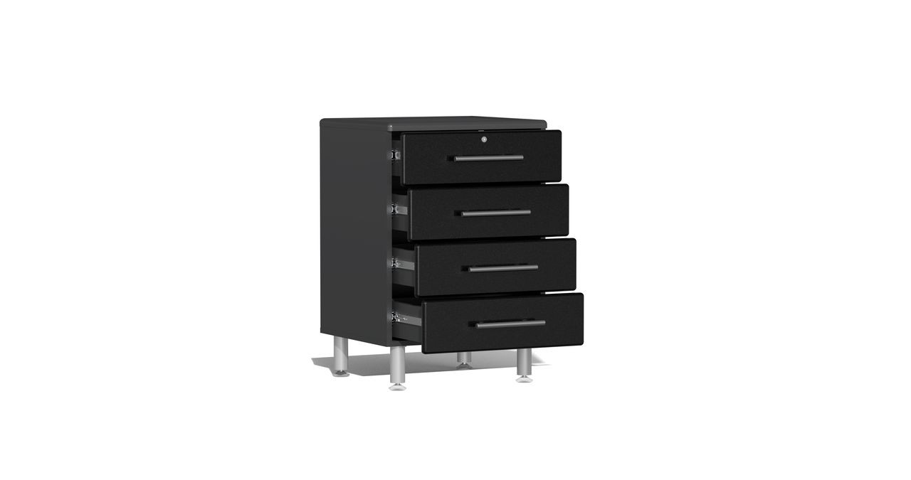 Ulti-MATE Garage 2.0 Series 10-Piece 18' Kit with Recessed Worktop - Black (UG22102B)