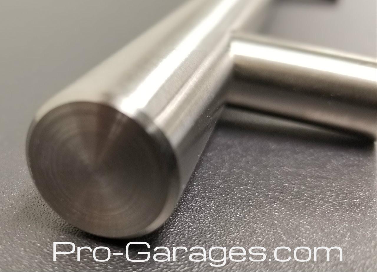 Machined Brushed Metal Handles