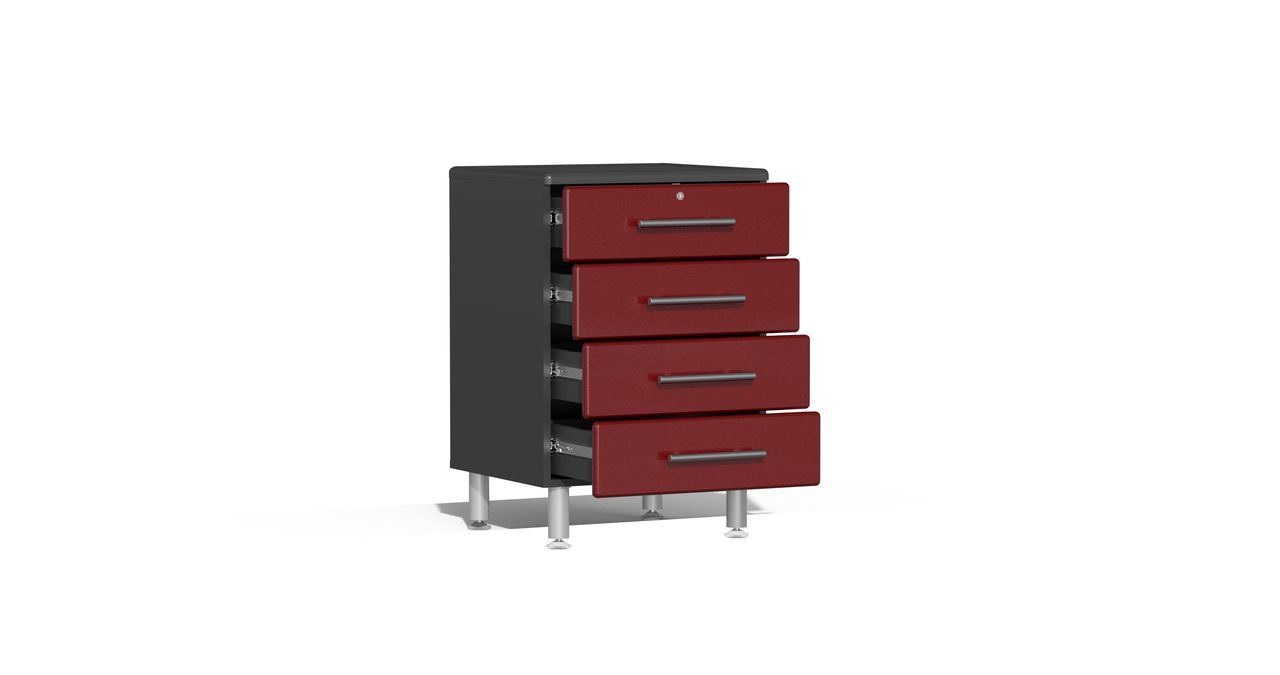 Ulti-MATE Garage 2.0 Series 15-Piece 21' Kit with Recessed Worktop - Red (UG22152R)