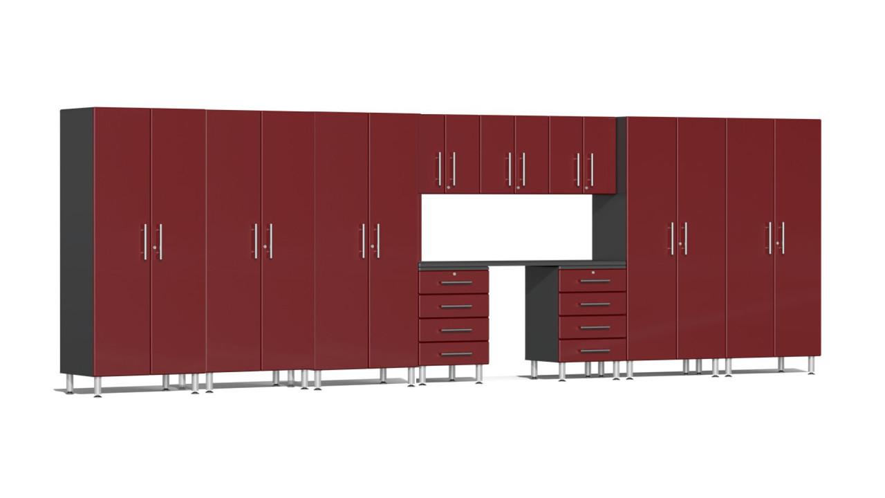 Ulti-MATE Garage 2.0 Series 11-Piece 21' Kit with Workstation (UG23111R))