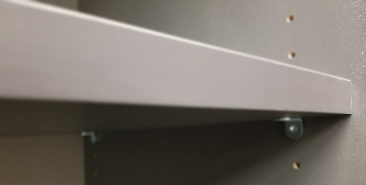 PEPPERCORN GREY CABINET BOX AND SHELF COLOR