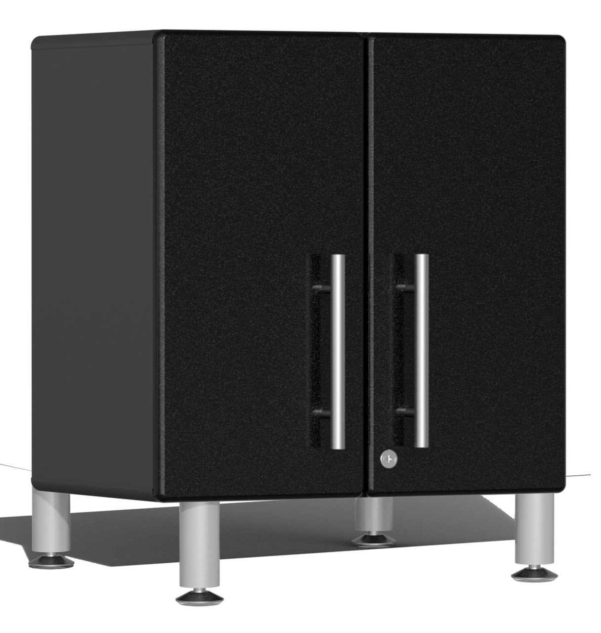 Ulti-MATE Garage 2.0 Series 2-Door All-Purpose Base Cabinet - Black (with feet)(UG21309B)