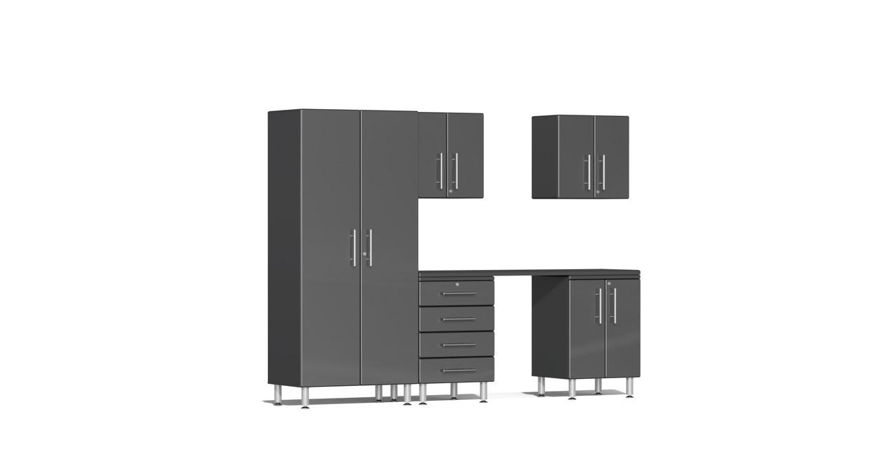 Ulti-MATE Garage 2.0 Series 6-Piece Kit with Workstation (UG22061G)