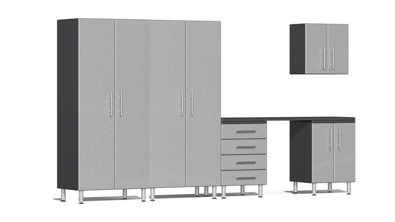 Ulti-MATE Garage 2.0 Series 12' -  6-Piece Kit with Workstation (UG27061S)