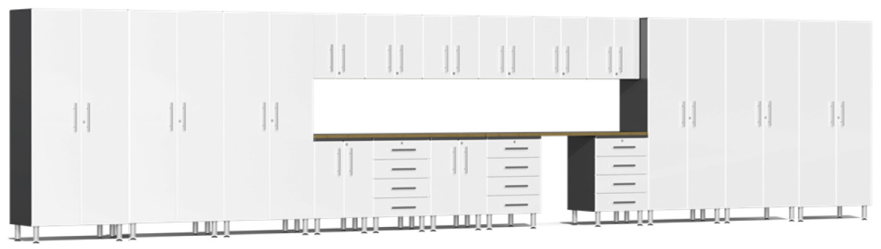 Ulti-MATE Garage 2.0 Series 30' -  19-Piece Super-Set (UG22192W)