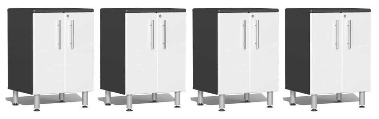 Ulti-MATE Garage 2.0 Series 8' - 4-Piece 2-Door Base Cabinet Set (UG27040W)