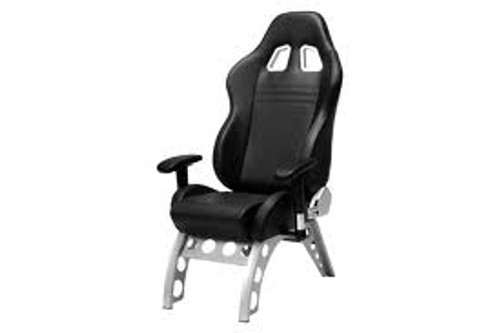Intro-Tech Automotive PitStop GT Receiver Series Chair in Black (GT4000B)