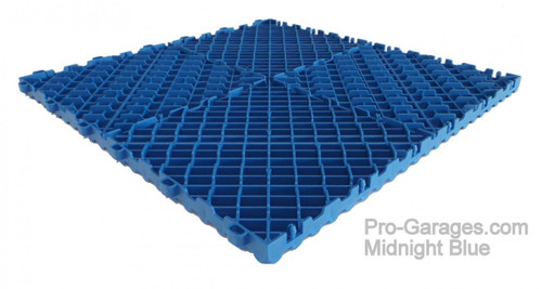 """Ribtrax """"Midnight Blue"""" Tile SALE PRICE ONLY $3.96 PER SQ FT - Size: 15 3/4"""" x 15 3/4"""" (1 Tile = 1.72 sq ft)"""