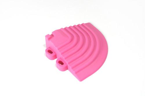 """Carnival Pink SwissTrax Corner - Size: 2-1/2""""[L] x 2-1/2""""[W]"""