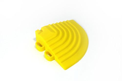 """Citrus Yellow SwissTrax Corner - Size: 2-1/2""""[L] x 2-1/2""""[W]"""