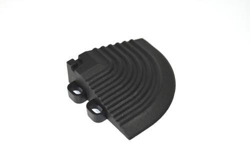 """Jet Black SwissTrax Corner - Size: 2-1/2""""[L] x 2-1/2""""[W]"""