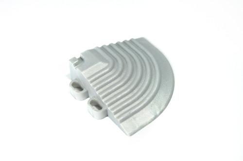 """Pearl Silver SwissTrax Corner - Size: 2-1/2""""[L] x 2-1/2""""[W]"""
