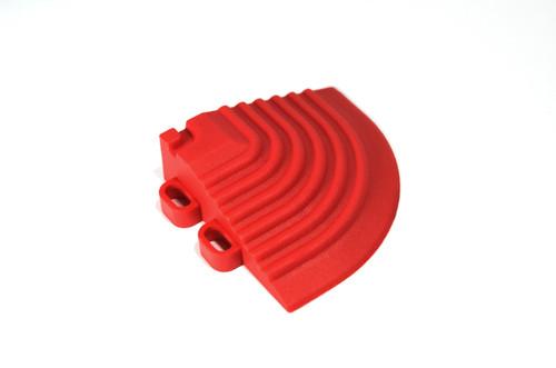 """Racing Red SwissTrax Corner - Size: 2-1/2""""[L] x 2-1/2""""[W]"""