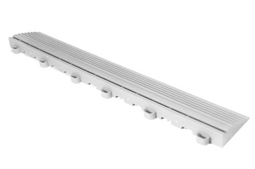 "Arctic White SwissTrax Edges - Size: 15.75""[L] x 2-1/2""[W]"