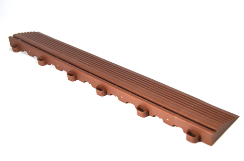 "Chocolate Brown SwissTrax Edges - Size: 15.75""[L] x 2-1/2""[W]"