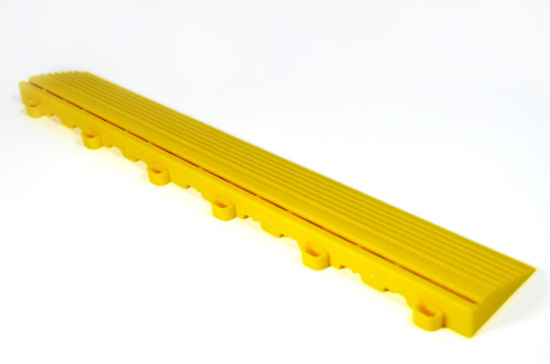 "Citrus Yellow SwissTrax Edges - Size: 15.75""[L] x 2-1/2""[W]"