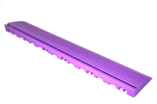 """Cosmic Purple SwissTrax Edges - Size: 15.75""""[L] x 2-1/2""""[W]"""