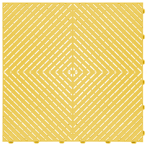 """Citric Yellow"" RibTrax (RT) Smooth by SwissTrax - SALE PRICE ONLY $3.96 PER SQ FT Tile Size: 15.75"" x 15.75"" x .75 (1 Tile = 1.72 sq ft)"