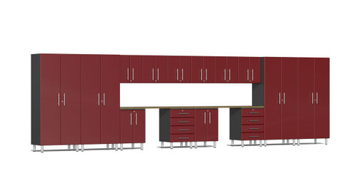 Ulti-MATE Garage 2.0 Series 16-Piece 24' Super-System - (UG22162R)