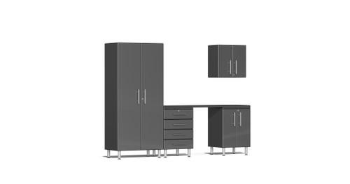Ulti-MATE Garage 2.0 Series 5-Piece - 9' Kit with Workstation -  (UG22051G)