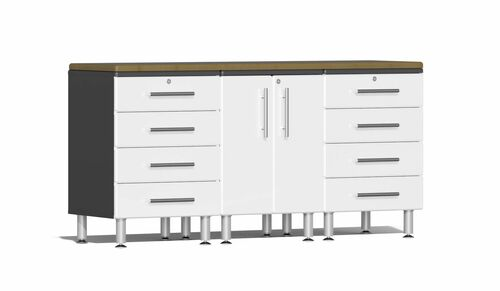 Ulti-MATE Garage 2.0 Series 4-Piece Workstation Kit (UG24042W)