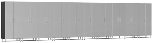 Ulti-MATE Garage 2.0 Series 10-Piece 30' - Tall Cabinet Set - Silver (UG22610S)