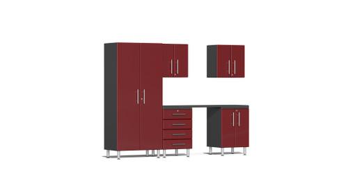 Ulti-MATE Garage 2.0 Series 6-Piece Kit with Workstation (UG22061R)