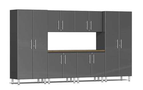 Ulti-MATE Garage 2.0 Series 12' -  7-Piece Kit with Workstation (UG26072G)