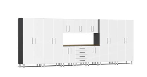 Ulti-MATE Garage 2.0 Series 11-Piece 18' Kit with Bamboo Worktop (UG22112W)