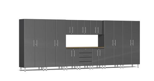 Ulti-MATE Garage 2.0 Series 11-Piece 18' Kit with Bamboo Worktop (UG22112G)