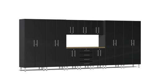 Ulti-MATE Garage 2.0 Series 11-Piece 18' Kit with Bamboo Worktop (UG22112B)