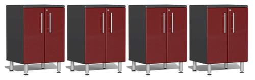 Ulti-MATE Garage 2.0 Series 8' - 4-Piece 2-Door Base Cabinet Set (UG27040R)