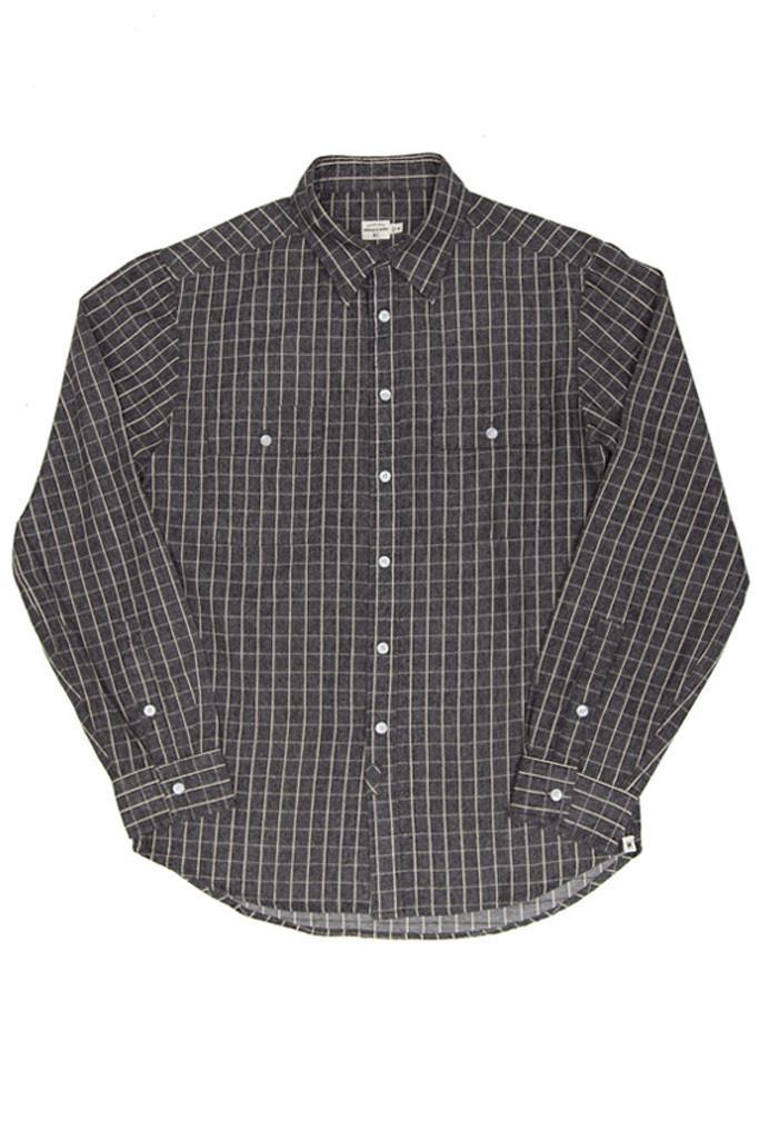 Franklin Brown Grid Shirt