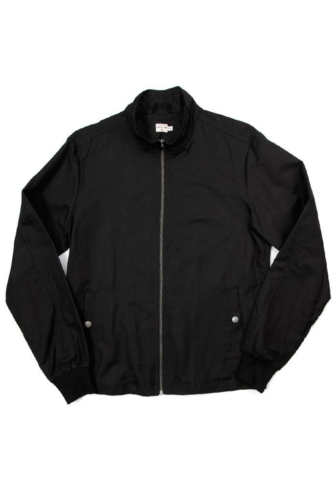 Hayden Black Linen Jacket