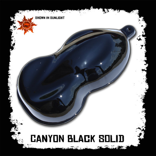 NexGEN Direct-to-Plastic Basecoat - Canyon Black