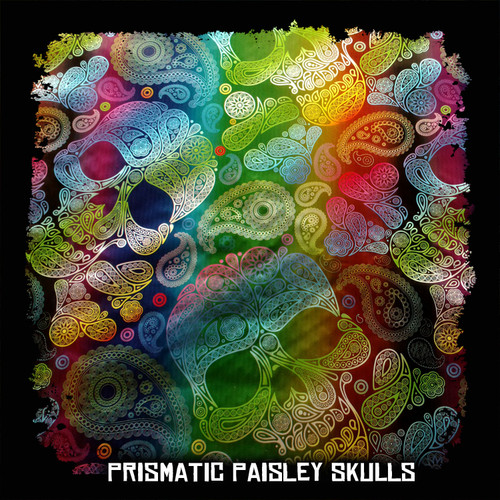 Prismatic Paisley Skulls