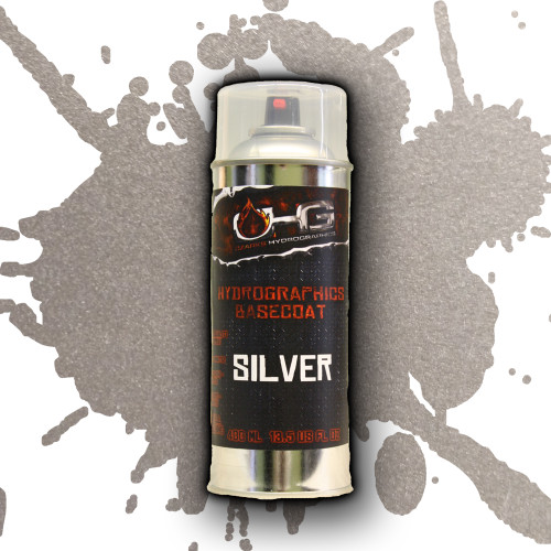 Aerosol Hydrographics Basecoat - Silver