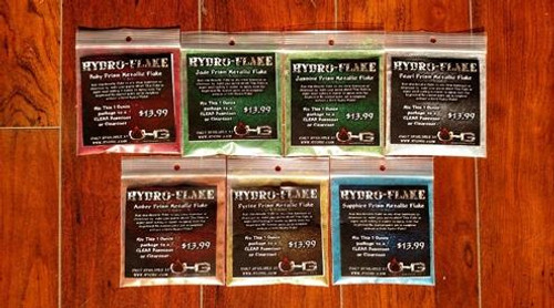 Complete Hydro-Flake Prism Kit - 1 ounce