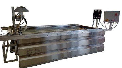 10' Custom Automated Activation Water Transfer Printing Stainless Tank