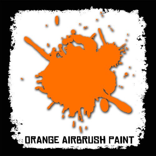 Air Brush Paint - 2oz - Orange