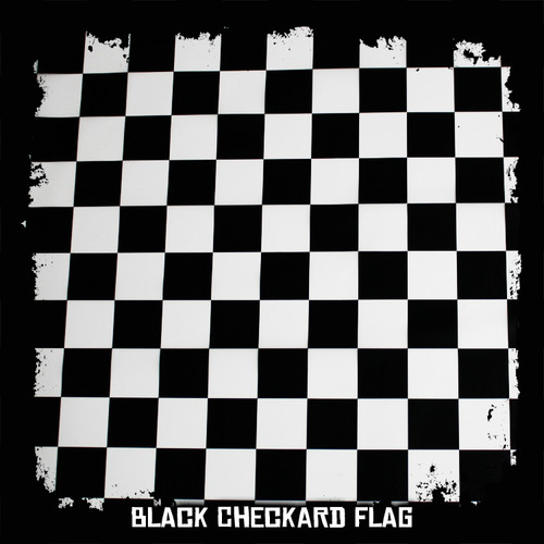 Black Checkard Flag