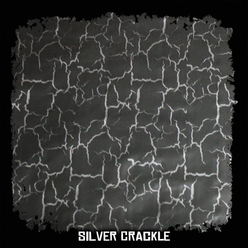 Silver Crackle