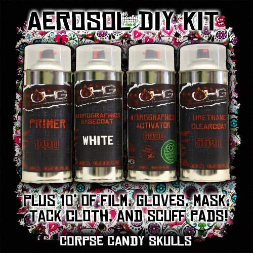 Aerosol DIY Dip Kit -  Corpse Candy Skulls