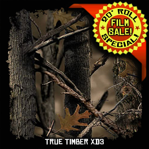 True Timber XD3 - 20 Foot Roll Special!