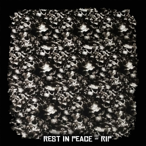 Rest in peace - RIP Skulls